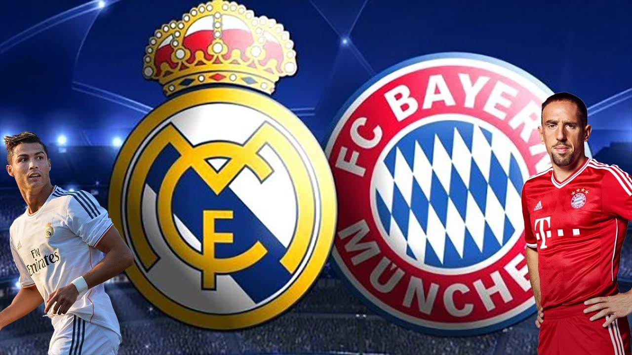 Real Madrid vs Bayern Munchin vs Real Madrid 25 April UCL Semi final match