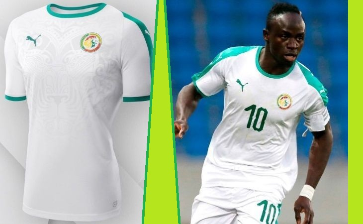 Senegal home and away kits - jersey for world cup 2018