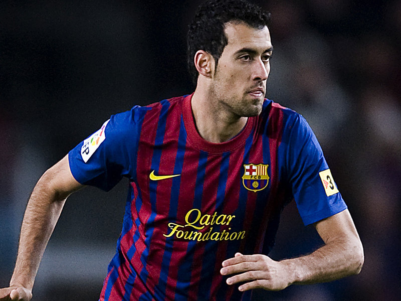 Sergio Busquets midfielder of spain