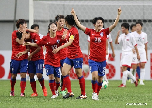 South Korea womens secure place in france womens world cup 2019