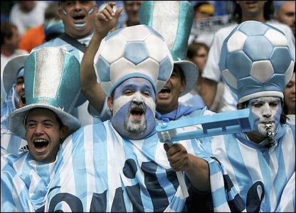 Argentina fans ready to cheer their nation in fifa world cup