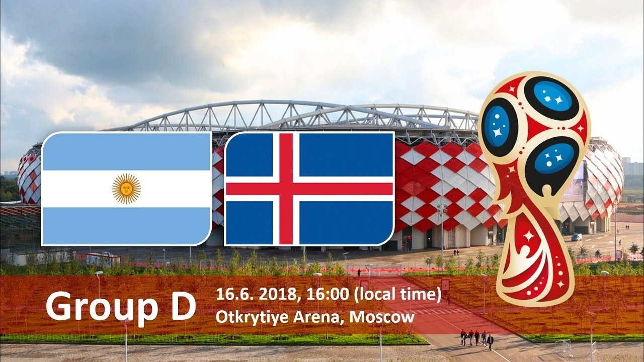 Argentina vs Iceland 2018 world cup football Game of 16 June