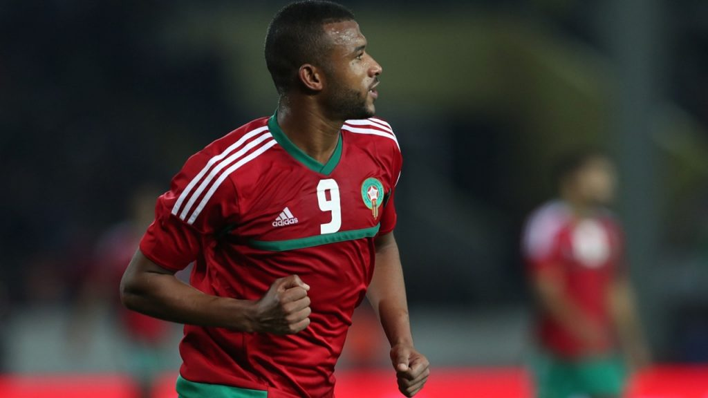 Ayoub El Kaabi place in 2018 Morocco world cup squad