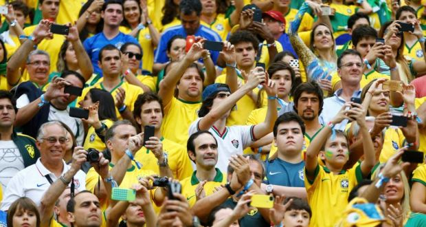 Brazil Soccer fans ready to cheer their country in world cup