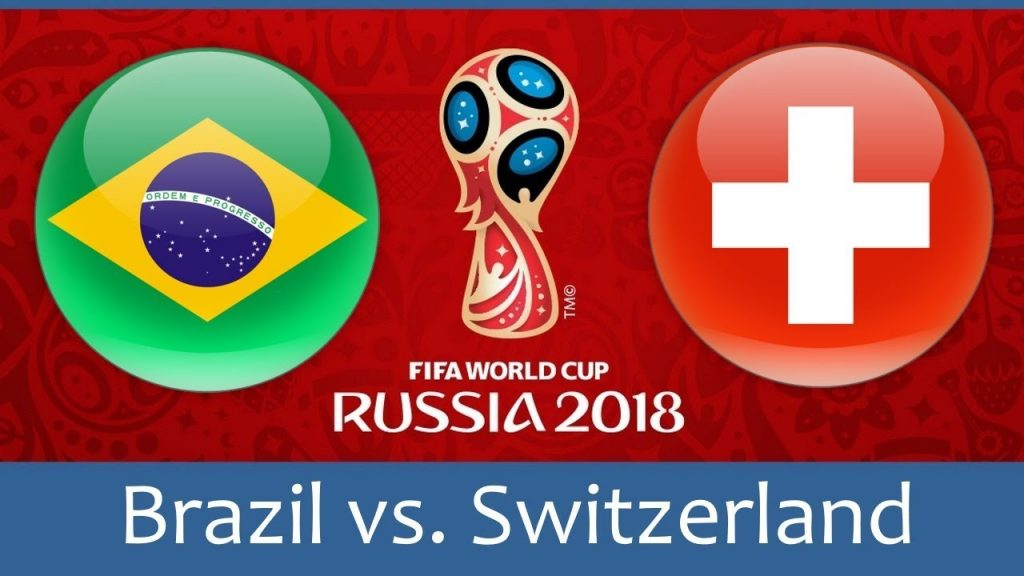Brazil vs switzerland football match