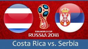 Costa Rica vs Serbia 2018 World cup HD wallpapers Group E Clash