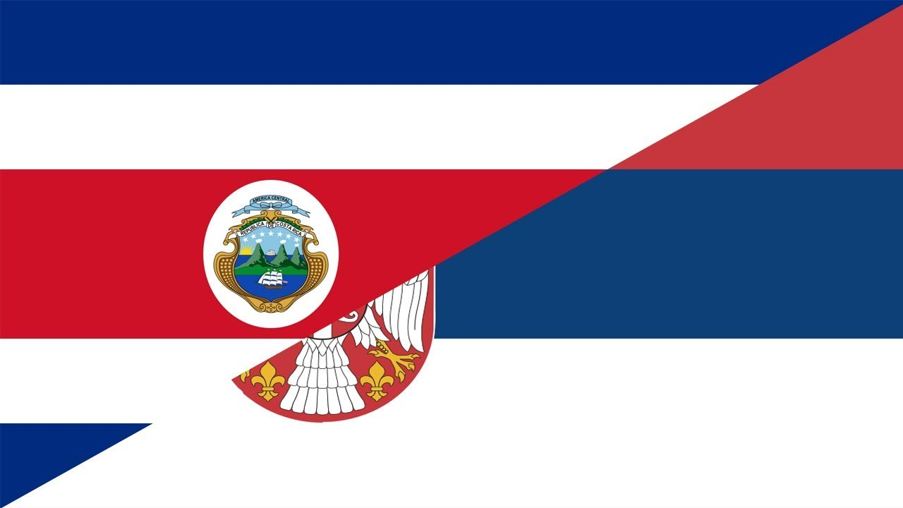 Costa rica vs serbia football match