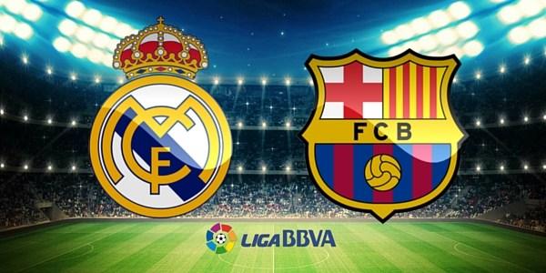 El Clasico 2018 of 6 May Madrid vs barca