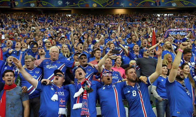 Football Crazy Iceland fans ready to support their country in world cup