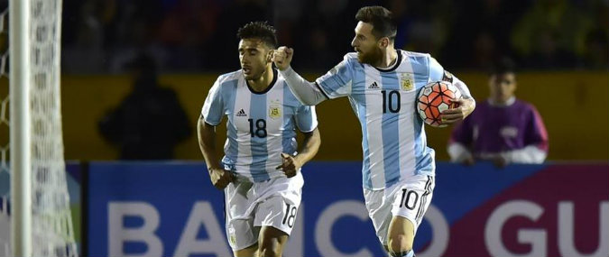 Messi hat-trick guided argentina to easy win over haiti