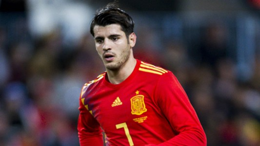Morata not included in spain 23 men squad for world cup 2018