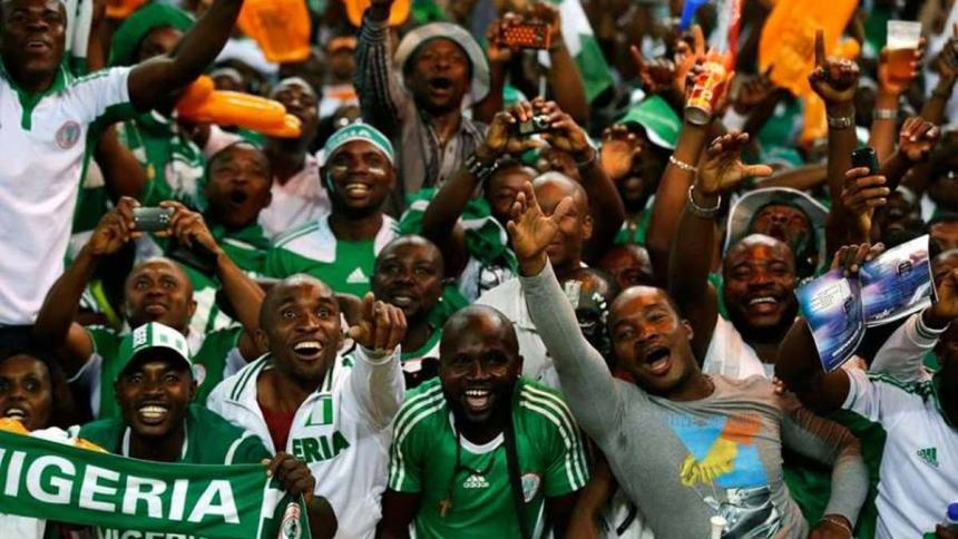Nigeria football fans ready to cheer in 2018 world cup