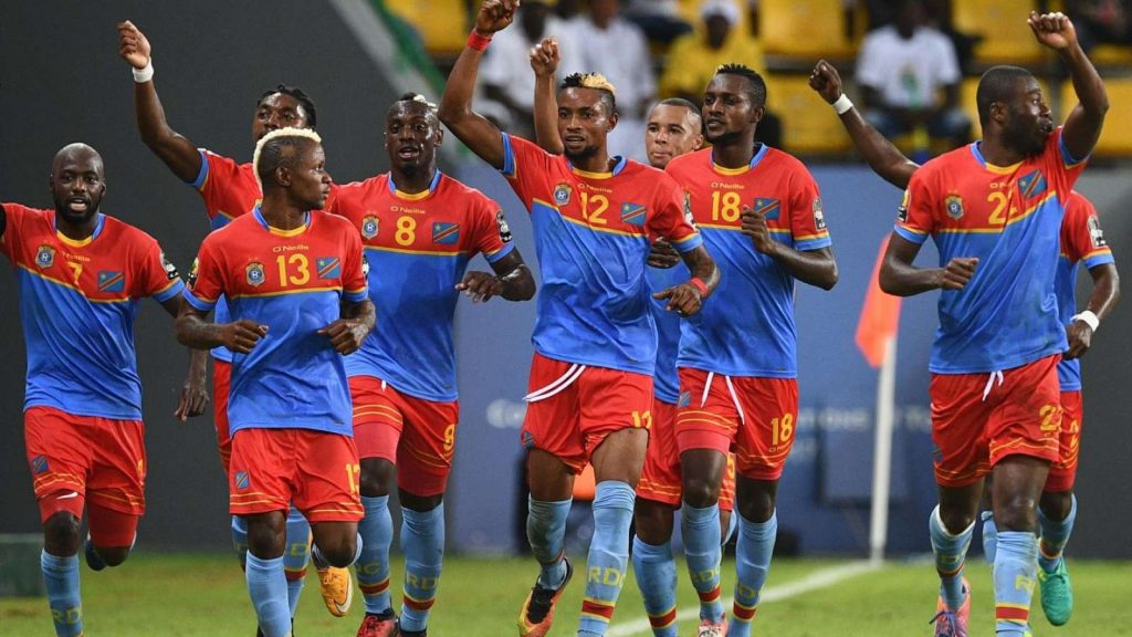 Nigeria vs congo match of football