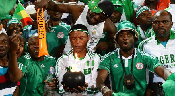Nigerians ready to support their country in world cup events