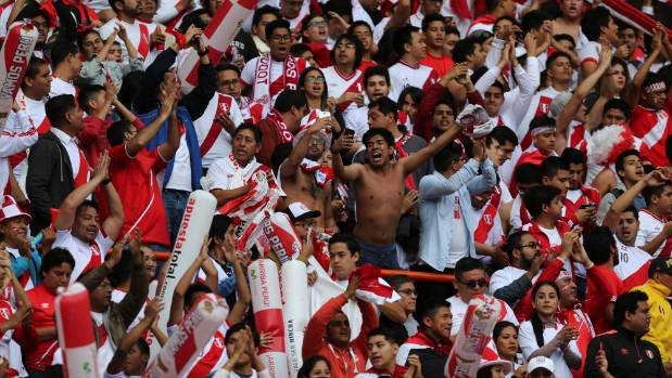 Peru fans ready to cheer their nation in fifa world cup