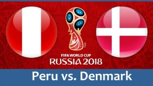 Peru vs Denmark World cup 2018 HD Wallpaper Group C 16 June Clash