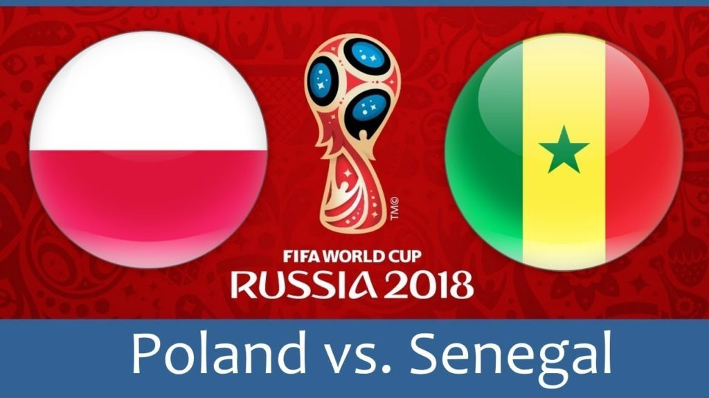 Poland vs Senegal 2018 football world cup match