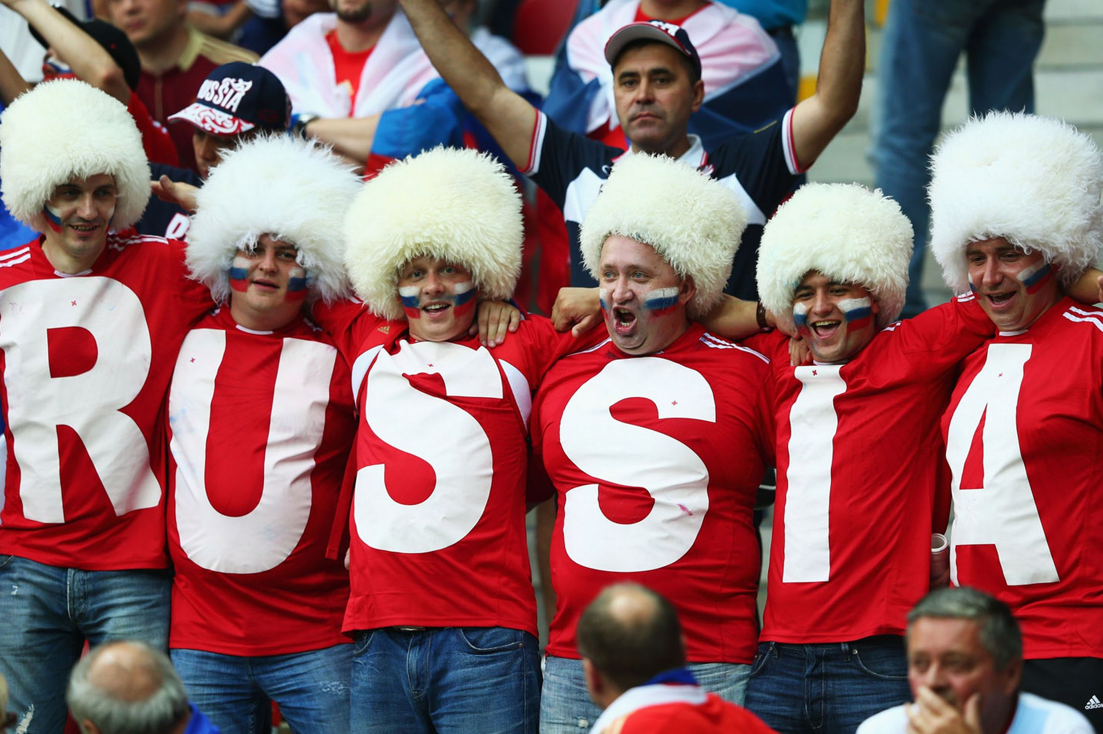 Russia Fans ready to cheer their nation in soccer world cup 2018