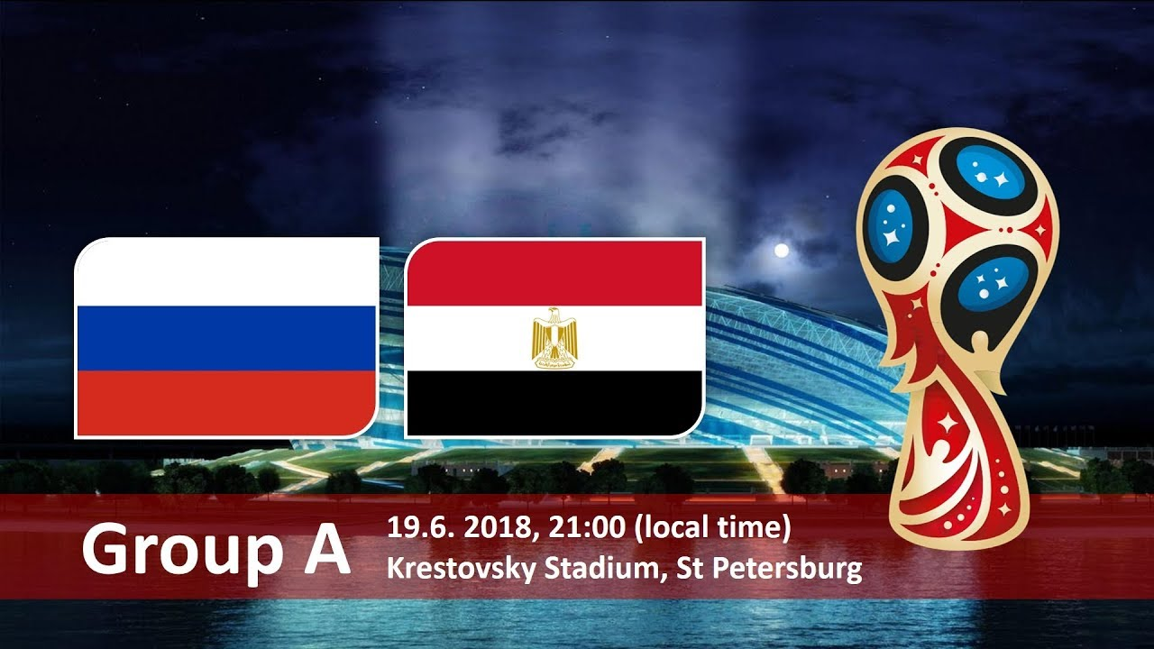 Russia vs Egypt 2018 world cup football Game of 19 June
