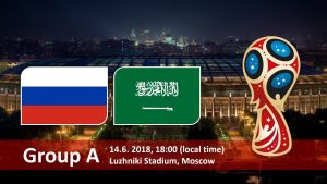 Russia vs Saudi Arabia Kick off – When Live Match starts worldwide time