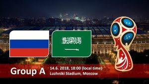 Russia vs Saudi Arabia Kick off – When Live Match starts worldwide time