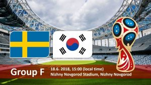 Sweden vs South Korea Live in India, IST Time World cup 2018 Match-12