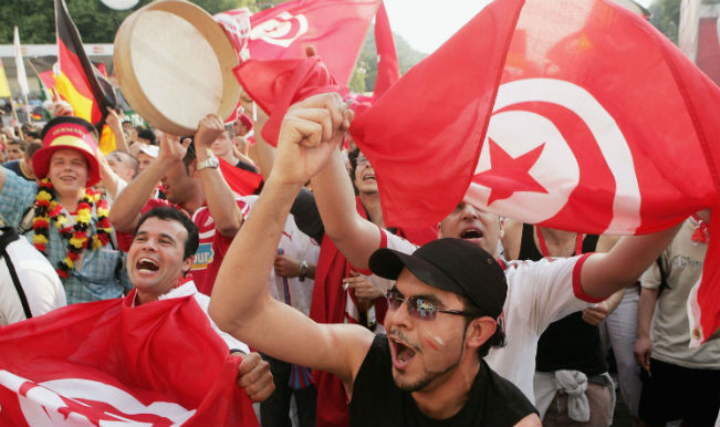 Tunisia Football Fans Ready for the world cup 2018 battle