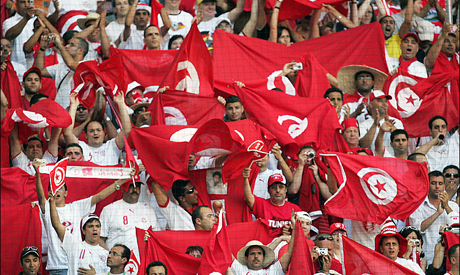 Tunisia football fans ready to cheer their nation in world cup 2018