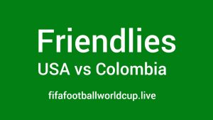 USA vs Colombia Friendly Match Live Telecast, Prediction, Timing, TV channels info