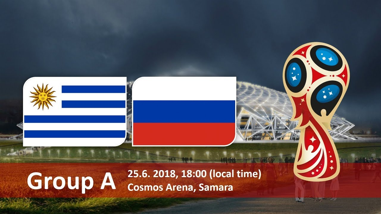 Uruguay vs Russia 2018 world cup football Game of 25 June