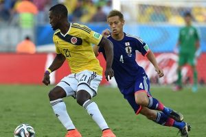 Colombia vs Japan Live in India, IST Time World cup Match TV channel info