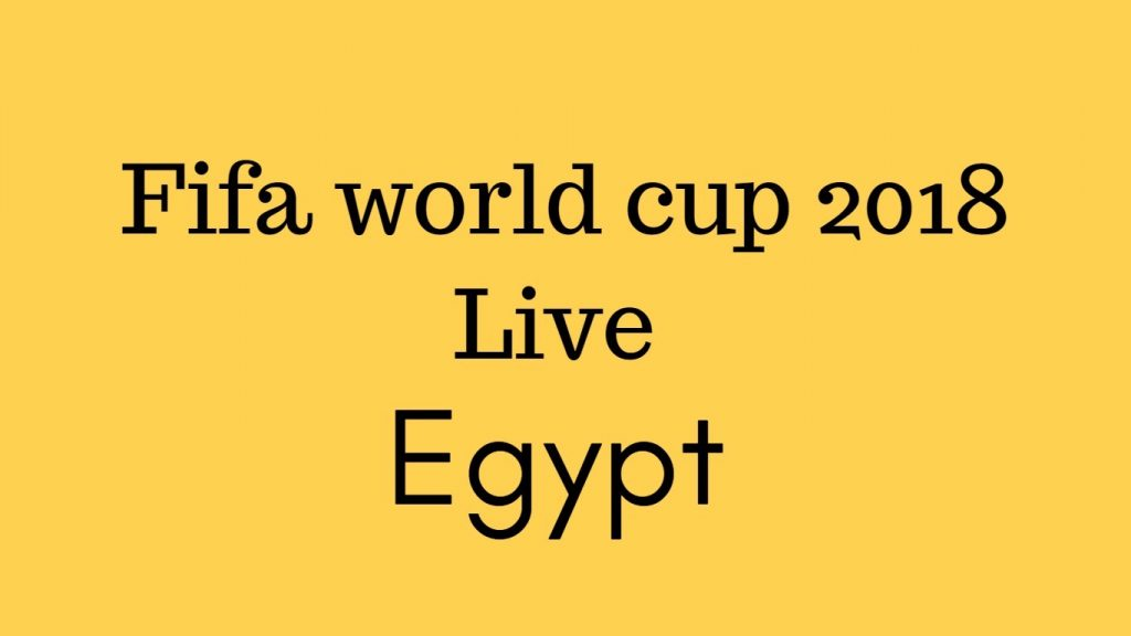 TV channel list Who broadcast Fifa world cup 2018 live in Egypt