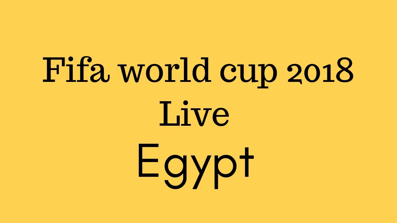 fifa world cup live in egypt
