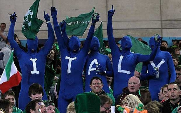 italy fans ready to cheer their nation in football game