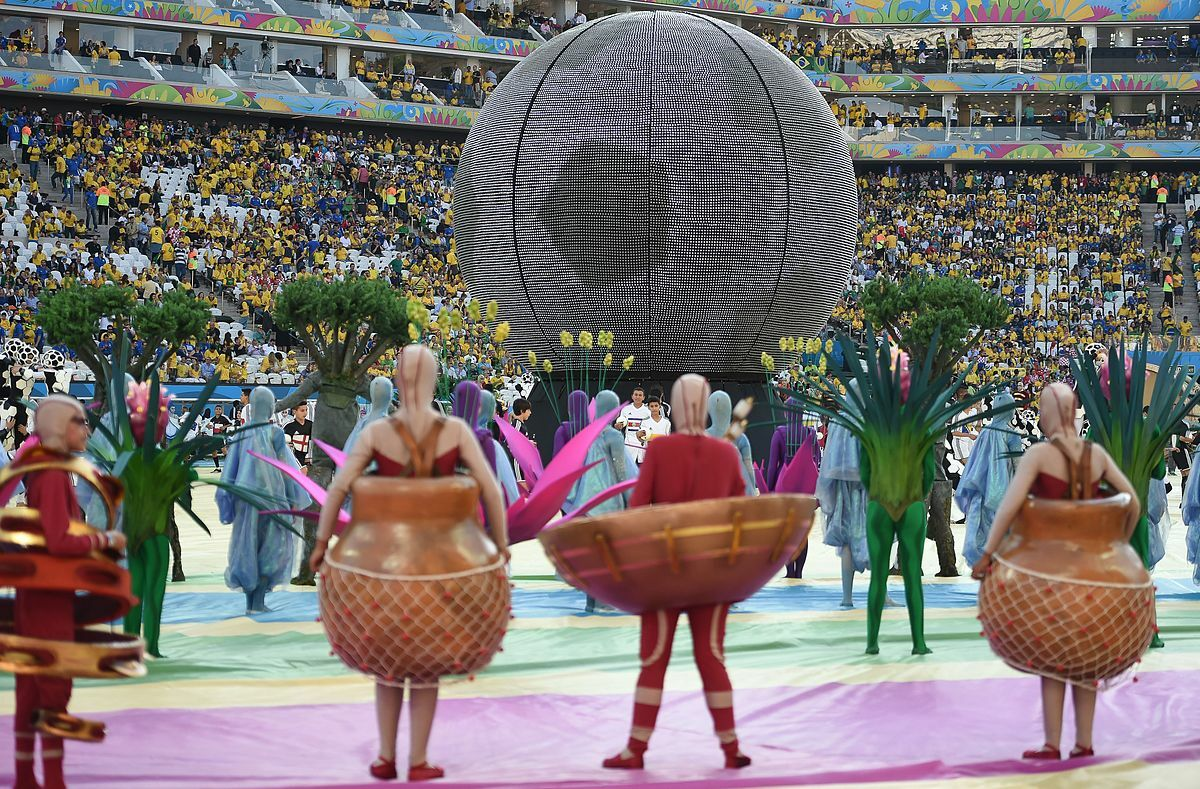 2014 brazil world cup opening ceremony performances