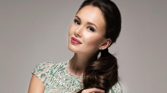 Aida Garifullina perform on opening ceremony show at russia world cup