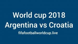 Argentina vs Croatia Live Streaming, TV Telecast channels, Time 21 June World cup Match