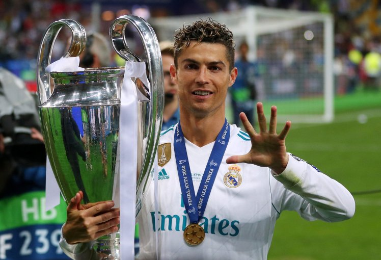 Cristiano-Ronaldo-HD-wallpaper-with-trophies