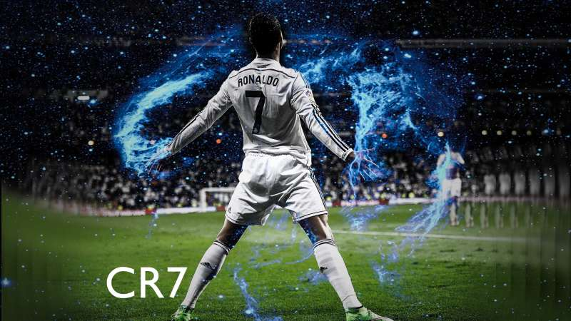Cristiano Ronaldo wallpaper in celebration mood