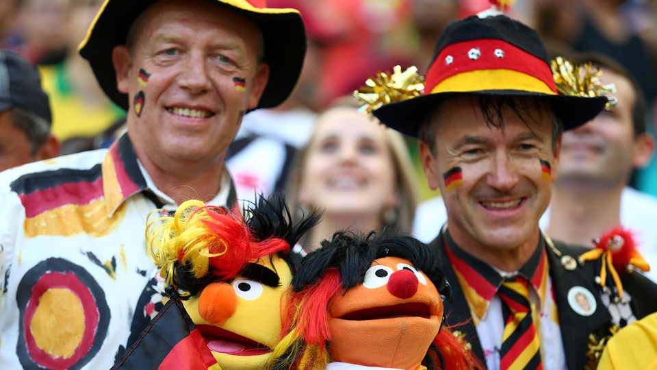 German fans ready to boost confident of nation