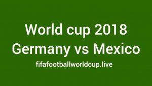 Deutschland gegen Mexiko Live Stream 17 June WM-Spiel