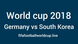 Germany vs South Korea Live Stream, TV Telecast guide, Timing to kick off 27 June