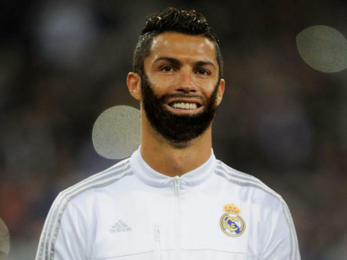 How ronaldo look with beard