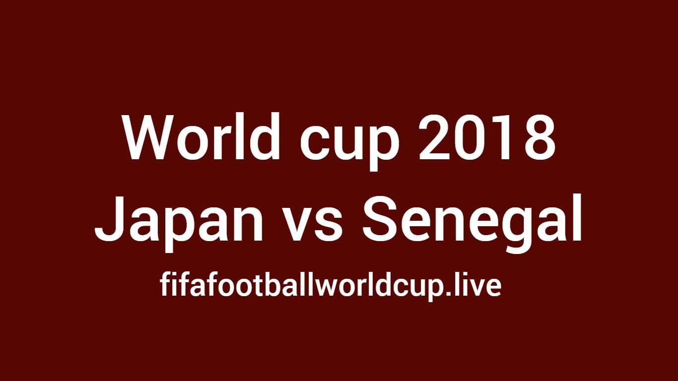 Japan vs Senegal football game
