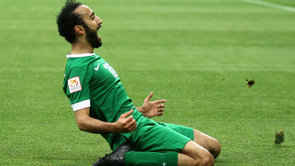 Mohammad Al-Sahlawi Saudi Arabian player HD wallpaper