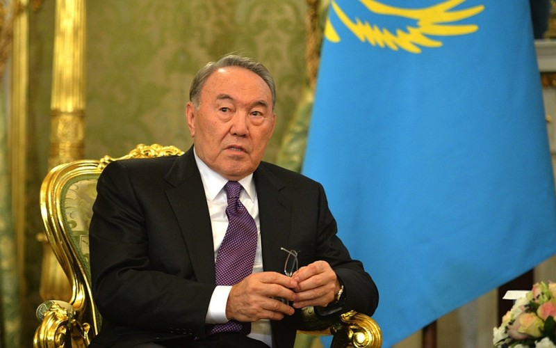 Nursultan Nazarbayev attend in world cup opening ceremony at russia