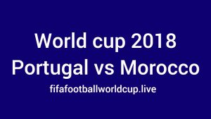 Portugal vs Morocco Live Stream, TV Telecast channel, Time 20 June Match
