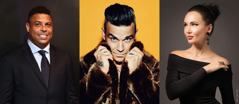 Robbie Williams, Aida Garifullina and Ronaldo world cup 2018 opening ceremony performer