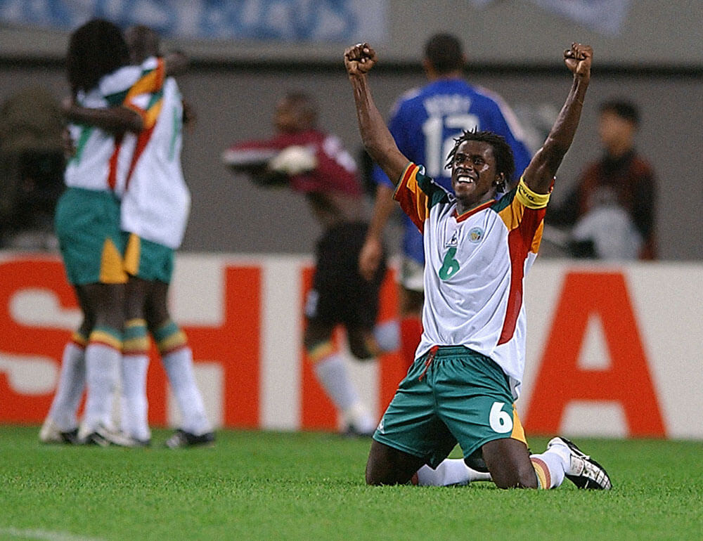 Senegal beat France in their first match of 2002 world cup