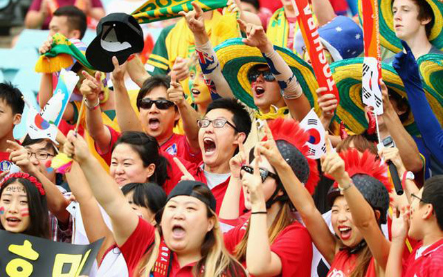 South korean football fans ready to support country in world cup